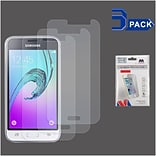 Insten 3-Pack Clear LCD Screen Protector Film Cover For Samsung Galaxy Amp 2 / J1 (2016)