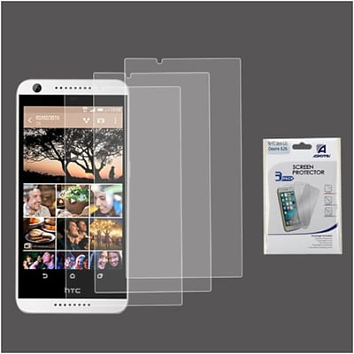 Insten 3-Pack Clear HD Screen Protector Film For HTC Desire 626/626s