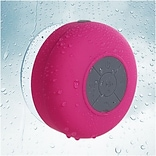 Insten Hot Pink Bluetooth 3.0 Wireless Waterproof Speaker w/ Handsfree Call Mic for Shower Car iPhon