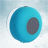 Insten Blue Bluetooth 3.0 Wireless Waterproof Speaker w/ Handsfree Call Mic for Shower Car iPhone Sm