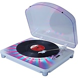 Photon LP Mulitcolor Lighted Turntable with USB Conversion