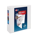 Avery Heavy-Duty 3 3-Ring View Binder, White (79193)
