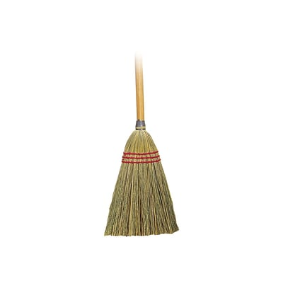 ODell Lobby Corn Broom, Beige (D12501)