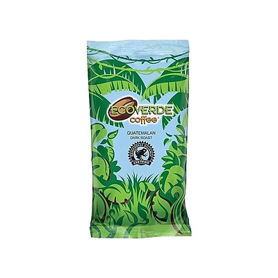 Ecoverde Guatemalan Ground Coffee, Dark Roast, 42/Carton (E420200DK)