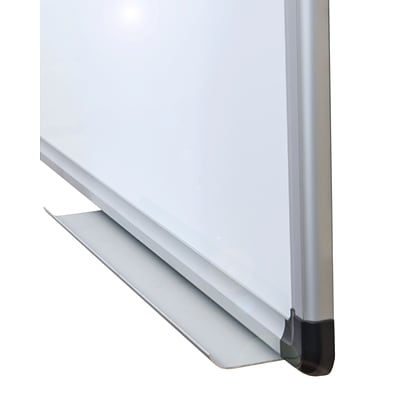 Viztex Lacquered Steel Magnetic Dry Erase Board with Aluminum Frame (24x18)