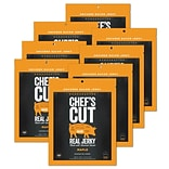 Chefs Cut, Real Bacon Jerky, Maple, 8 Pack, (DS1156)