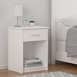 Ameriwood Home Core Nightstand, White (5497015COM)
