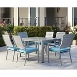 Cosco 7 Piece Blue Patio Set (88587STQE)
