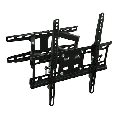 Mount-It! Articulating TV Wall Mount Corner Bracket, Stable Dual Arm Full Motion and Swivel (MI-4461)