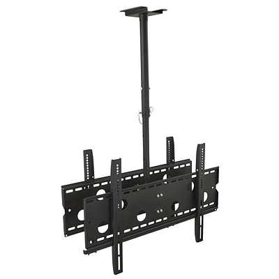 Mount-It! Professional Dual Screen Rotating and Tilting Ceiling Mount (MI-502B)