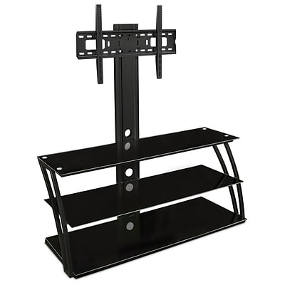 Mount-It! TV Stand Entertainment Center with Mount and Storage Shelves (MI-864)