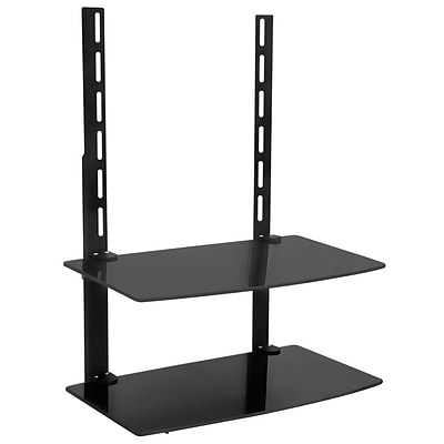 Mount-It! TV Wall Mount Bracket Components Shelf (MI-8402)