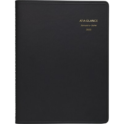 2020 AT-A-GLANCE 8-1/2 x 11 Eight Person Daily Appointment Book, Black (70-212-80-20)