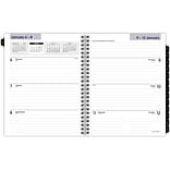 2020 AT-A-GLANCE DayMinder 7 x 8-3/4 Executive Weekly/Monthly Refill For G545 Line Planners (G545-