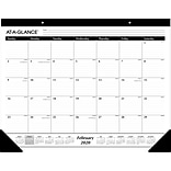 2020 AT-A-GLANCE 22 x 17 Monthly Desk Pad Calendar (SK24-00-20)