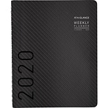 2020 AT-A-GLANCE 8-1/4 x 11 Weekly/Monthly Planner Contemporary, Graphite (70-950X-45-20)