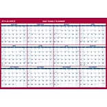 2020 AT-A-GLANCE 48 x 32 Vertical/Horizontal Erasable Yearly Wall Calendar (PM326-28-20)