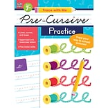 Trace with Me Pre-Cursive Practice by Thinking Kids, Paperback (705302)