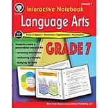 Interactive Notebook Language Arts Resource Book by Schyrlet Cameron, Grade 7, Paperback (405028)