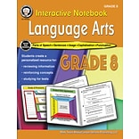 Interactive Notebook Language Arts Resource Book by Schyrlet Cameron, Grade 8, Paperback (405029)