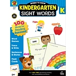 Words to Know Sight Words by Brighter Child, Grade K, Paperback (705234)