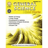 General Science Quick Starts Workbook by Gary Raham, Paperback (405041)