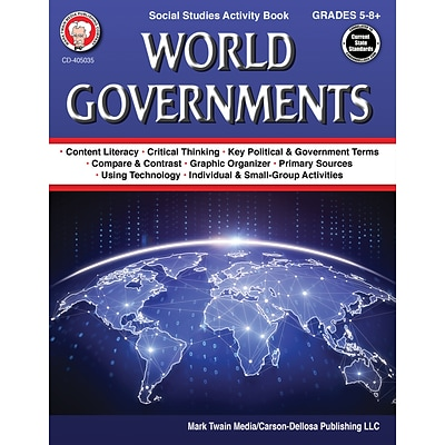 World Governments Workbook by Daniel S. Campagna, Paperback (405035)