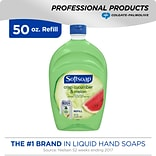 Softsoap Antibacterial Hand Soap with Moisturizers, Crisp Cucumber Melon, Refill, 50 oz (US05260A)