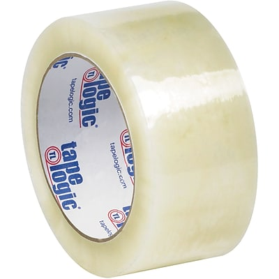 Tape Logic #6651 Cold Temperature Tape, 1.7 Mil, 2 x 110 yds., Clear, 6/Carton (T90266516PK)
