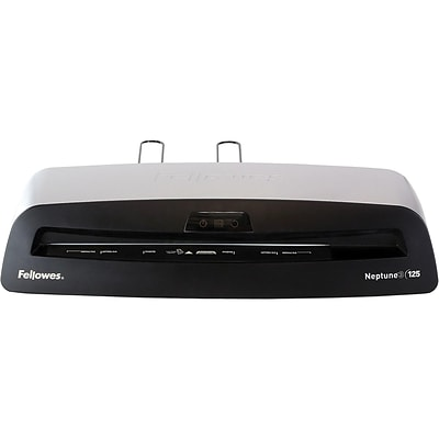 Fellowes Neptune 3 125 Thermal & Cold Laminator, 12.5 Width, Silver/Black (5721401)
