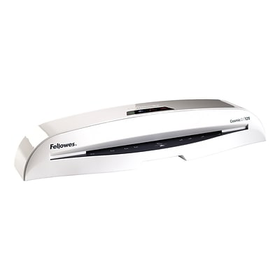 Fellowes Cosmic 2 125 Thermal & Cold Laminator, 12.5 Width, White (5726301)