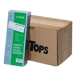 TOPS Credit Card Sales 3-Part Carbonless Receipt, 3.25L x 7.88W, 500/Carton (TOP 38538)