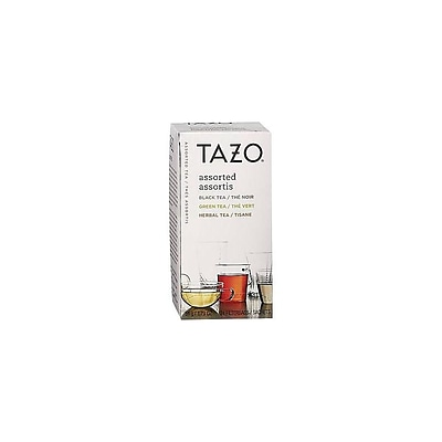 Tazo Assorted Tea Bags, 24/Box (TJL20200)