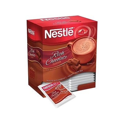 Nestle Rich Chocolate Cocoa, 0.71 Oz., 50/Box (NES12032)