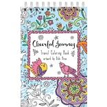 LANG Cheerful Journey Travel Coloring Book (1024102)
