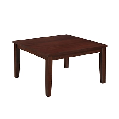 CorLiving Warm Brown Dining Table with Hidden Extendable Leaf (DWG-280-T)