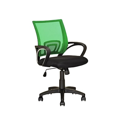 CorLiving LOF-321-O Workspace Mesh Back Office Chair, Light Green