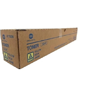 Konica Minolta TN-319Y Yellow Toner Cartridge (A11G230), High Yield