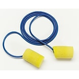 3M™ E-A-R™ Classic™ Earplugs, Corded, Poly Bag, 200 Pairs/Case (311-1101)