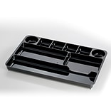 Officemate Recycled Plastic Drawer Organizer, Black (OIC26032)