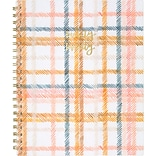 2020 One Canoe Two for AT-A-GLANCE 8-1/2 x 11 Weekly/Monthly Planner, Goldenrod Plaid (1360-905-20