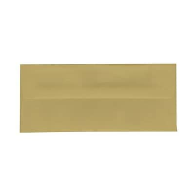 JAM Paper® #10 Business Envelopes, 4.125 x 9.5, Chartreuse Green, 500/box (21517089h)