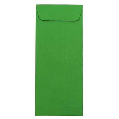 JAM Paper® #10 Policy Envelopes, 4.125 x 9.5, Green Recycled, 250/box (15884cc)