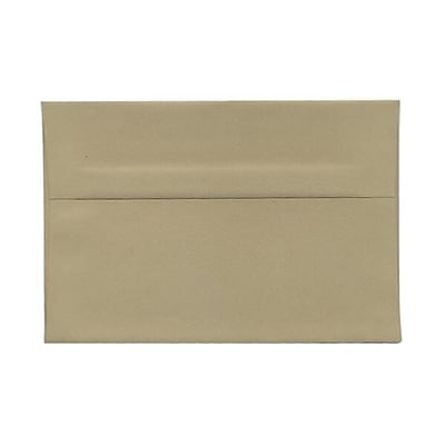 JAM Paper® A6 Invitation Envelopes, 4.75 x 6.5, Tan Brown, 1000/carton (125423542b)