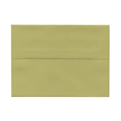 JAM Paper® A6 Invitation Envelopes, 4.75 x 6.5, Chartreuse Green, 250/box (1513313)