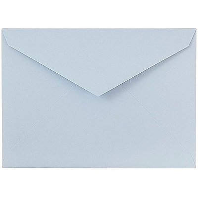 JAM Paper® 8bar V-Flap Envelope, 5 3/4 x 8, Nautical Blue, 50/pack (526PKCE130)