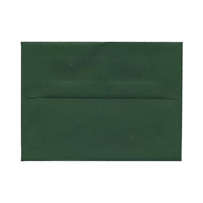 JAM Paper® A7 Invitation Envelopes, 5.25 x 7.25, Dark Green, 25/pack (263917095)