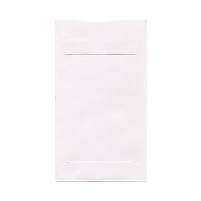 JAM Paper® #6 Coin Business Envelopes, 3.375 x 6, White, 50/Pack (1623184i)