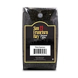 San Francisco Bay, Petes Espresso Blend, Medium Dark, Caffeine, 2, 2lb Bags (7949)