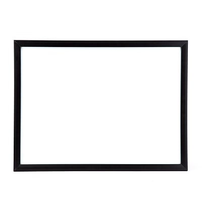 U Brands Magnetic Dry Erase Board, 23 x 17 Inches, Black Frame (307U00-01)